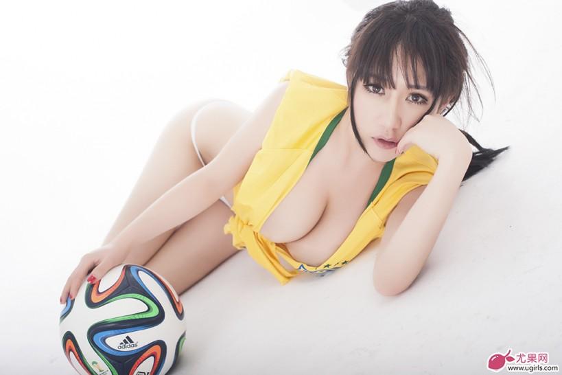 [Ugirls尤果网]2014.06.17 足球宝贝合辑一 赵雪 苏可可 纯小希